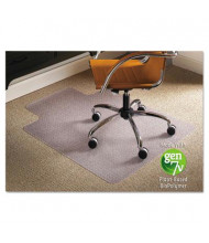 "ES Robbins Low Pile Carpet 36"" W x 48"" L with Lip, Straight Edge Chair Mat 141032"