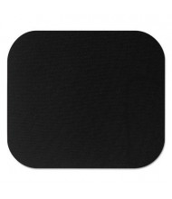 """Fellowes 9"""" x 8"""" Polyester Nonskid Mouse Pad, Black"""