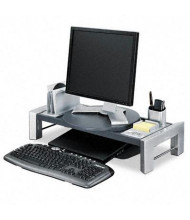 Fellowes Professional Adjustable Monitor Riser With Storage Tray