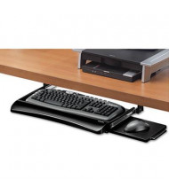 "Fellowes Office Suites 10"" Track Under-Desk Keyboard Drawer, Black"