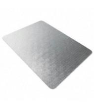 "Floortex Cleartex Ultimat Medium Pile Carpet 47"" W x 35"" L, Beveled Edge Chair Mat 118923ER"