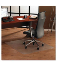 "Floortex Cleartex Ultimat XXL Carpet 60"" W x 60"" L, Beveled Edge Chair Mat 1215015019ER"