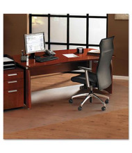 "Floortex Cleartex Ultimat XXL Hard Floor 60"" W x 79"" L, Beveled Edge Chair Mat 1215020019ER"