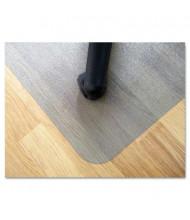"Floortex EcoTex Revolutionmat Hard Floor 48"" W x 65"" L, Beveled Edge Chair Mat ECO3648EP"