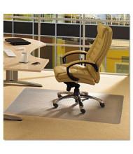 "Floortex Cleartex Advantagemat Low Pile Carpet 53"" W x 45"" L, Beveled Edge Chair Mat PF1113425EV"