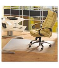 "Floortex ClearTex Advantagemat Hard Floor 53"" W x 45"" L, Beveled Edge Chair Mat PF1213425EV"