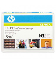 "HP C5707A DDS-2 4/8GB 1/8"" Data Tape Media Cartridge, 1/Pack"