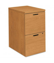 HON 105104CC 2-Drawer File/File Mobile Pedestal, Harvest