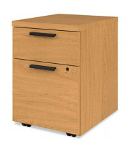 HON 105106CC 2-Drawer Box/File Mobile Pedestal, Harvest