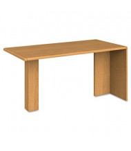 "HON 10700 Series 60"" Peninsula Desk, Harvest"