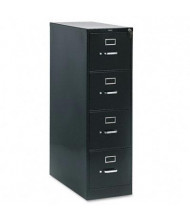 "HON 214PP 4-Drawer 28.5"" Deep Vertical File Cabinet, Letter Size, Black"