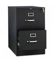 """HON 312CPP 2-Drawer 26.5"""" Deep Vertical File Cabinet, Legal Size, Black"""