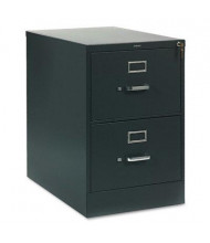"HON 312CPS 2-Drawer 26.5"" Deep Vertical File Cabinet, Legal Size, Charcoal"