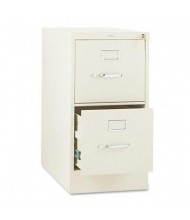 "HON 312PL 2-Drawer 26.5"" Deep Vertical File Cabinet, Letter Size, Putty"