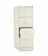 "HON 314CPL 4-Drawer 26.5"" Deep Vertical File Cabinet, Legal Size, Putty"