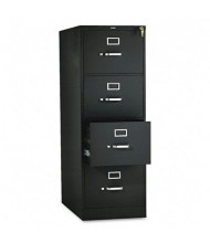 "HON 314CPP 4-Drawer 26.5"" Deep Vertical File Cabinet, Legal Size, Black"
