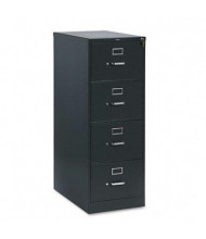 "HON 314CPS 4-Drawer 26.5"" Deep Vertical File Cabinet, Legal Size, Charcoal"