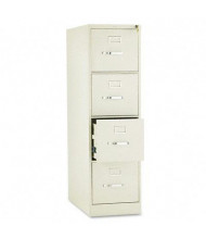 "HON 314PL 4-Drawer 26.5"" Deep Vertical File Cabinet, Letter Size, Putty"