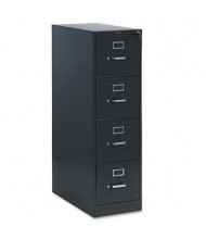 "HON 314PS 4-Drawer 26.5"" Deep Vertical File Cabinet, Letter Size, Charcoal"