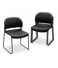HON GuestStacker 4031 Steel Frame Plastic Stacking Chair, 4-Pack