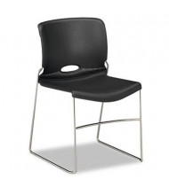 HON Olson 4041 Polymer Plastic Stacking Chair, 4-Pack