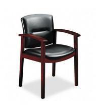 HON Park Avenue 5003 Leather Wood Guest Chair