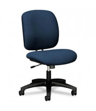 HON ComforTask 5902 Heavy-Duty Fabric Mid-Back Task Chair, Blue