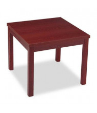 HON 80192NN Square Mahogany Laminate Occasional End Table