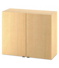 "HON 36"" W x 14"" D 2-Door Hospitality Hanging Wall Modular Cabinet, Natural Maple"