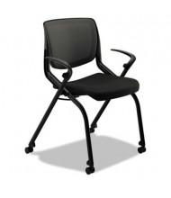 HON Motivate Flex-Back Fabric Nesting Stacking Chair