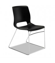 HON Motivate MS101 High-Density Plastic Stacking Chair, 4-Pack