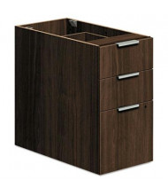 HON Voi VSP30XZ 3-Drawer Box/Box/File Pedestal, Columbian Walnut