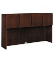 """HON Arrive 72"""" W 4-Door Stack-on Wood Veneer Storage Hutch, Shaker Cherry"""