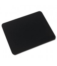 "Innovera 9"" x 7-1/2"" Natural Rubber Mouse Pad, Black"