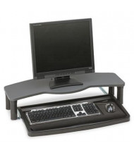 "Kensington 12"" Track Comfort Desktop Keyboard Drawer with SmartFit, Black/Gray"