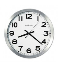 "Howard Miller 15.8"" Spokane Wall Clock, Silver"