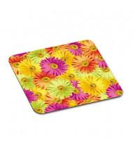 """3M 9"""" x 8"""" Scenic Foam Nonskid Mouse Pad, Daisy Design"""
