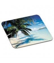 "3M 9"" x 8"" Scenic Foam Nonskid Mouse Pad, Beach Design"