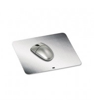 "3M 8-1/2"" x 7"" Precise Nonskid Repositionable Adhesive Back Mouse Pad, Gray/Bitmap"