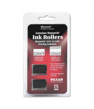 Monarch 925403 Replacement Ink Roller, Black Ink, 2/Pack