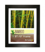 "NuDell 8"" W x 10"" H Bamboo Frame, Black"