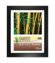"""NuDell 8.5"""" W x 11"""" H Bamboo Frame, Black"""