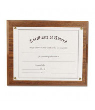"NuDell 13"" W x 10.5"" H Award-A-Plaque, Oak"