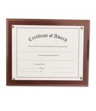 """NuDell 13"""" W x 10.5"""" H Award-A-Plaque, Mahogany"""