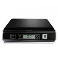 "Pelouze Dymo M10 10 lb. Portable Digital USB Postal Scale, 8"" W x 8"" D Platform"