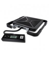 "Pelouze Dymo S100 100 lb. Digital USB Shipping Scale, 12"" W x 12"" D Platform"