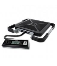 "Pelouze Dymo S250 250 lb. Digital USB Shipping Scale, 12"" W x 12"" D Platform"