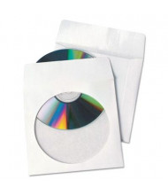 Quality Park Tech-No-Tear 100-Pack CD & DVD Sleeves
