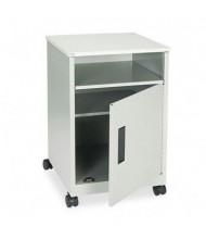 Safco One-Shelf /Storage Machine Cart, Gray