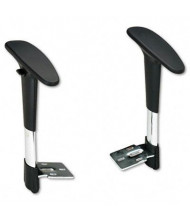 Safco 3495BL Height-Adjustable T-Pad Arms for Safco Metro Extended Height Chair